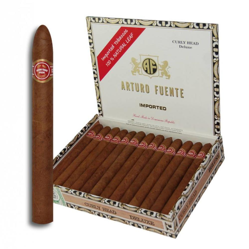 Arturo Fuente Curly Head Deluxe Natural Lonsdale