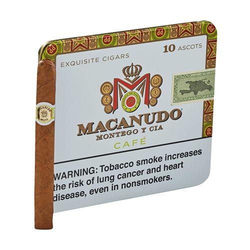 Macanudo Cafe Ascots Connecticut Cigarillo 10 Count
