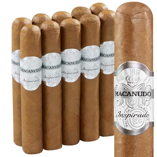 Macanudo Inspirado White Robusto Pack of 10