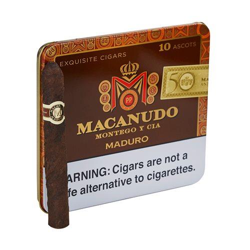 Macanudo Ascots Maduro Cigarillo Single Tin