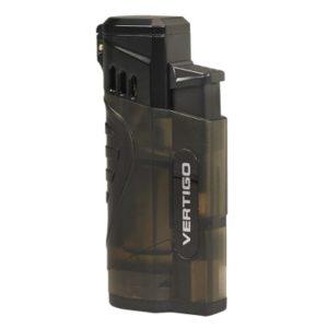 Vertigo Stinger Quad Flame Lighter Charcoal